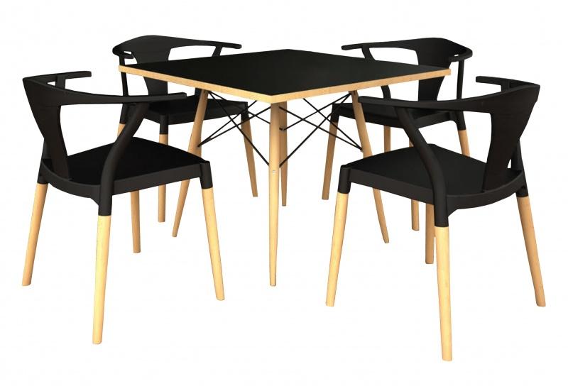 Sillas y mesas para cafeteria y restaurante muebles para - Sillas para cafeterias ...