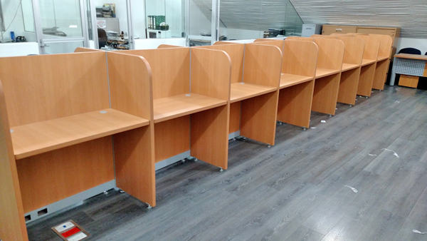 Caballeriza para call center muebles para oficina for Muebles para call center