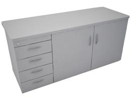 Credenza Con Puertas De Cristal : Credenzas para oficina muebles ofilineas