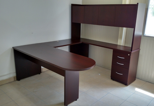 Escritorio ejecutivo mod ej2135 muebles para oficina for Muebles para oficina usados