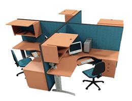 Modulos Para Oficinas Pequenas.Crucetas Para Oficina Y Muebles Modulares Muebles Para Oficina