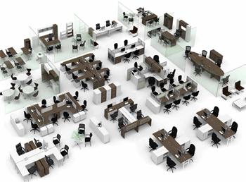 Art culos sitemas modulares muebles para oficina for Proveedores de muebles de oficina