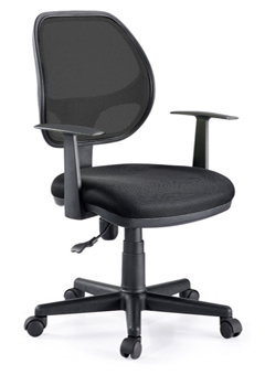 Sillas secretariales muebles para oficina ofilineas for Sillas operativas para oficina